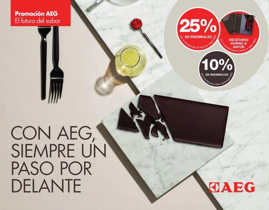 Promociones en hornos AEG